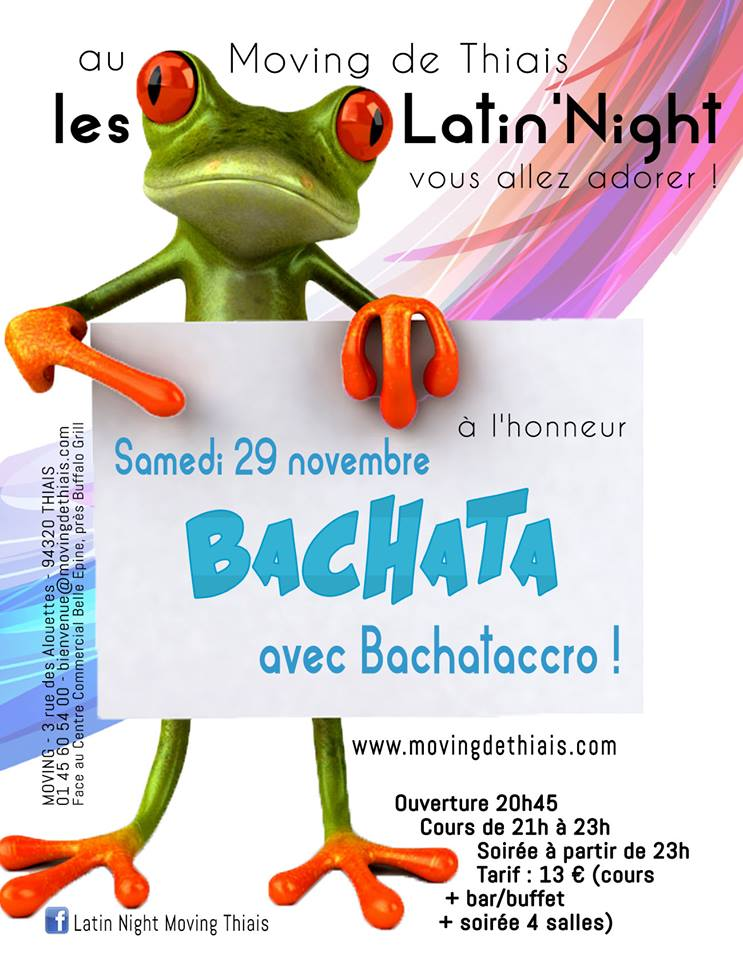 Latin'Night au Moving de Thiais avec BACHATACCRO
